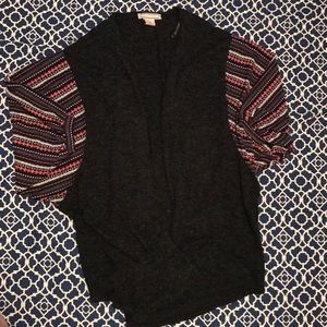 Flying Tomato Cardigan sweater sleeve M /L